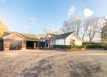 Thumbnail 4 bed detached bungalow for sale in Horton Heath, Horton, Wimborne