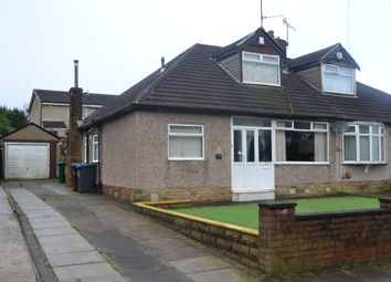 Thumbnail 3 bed semi-detached bungalow for sale in Lawrence Drive, Horton Bank Top, Bradford