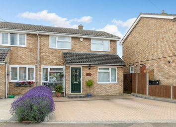 Thumbnail 3 bed semi-detached house for sale in Newis Crescent, Clifton, Shefford, Beds