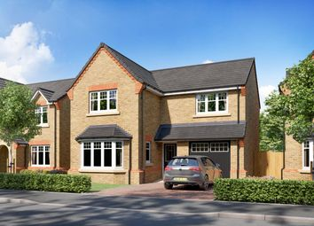 "Thumbnail 4 bed detached house for sale in ""Plot 78 - The Settle V0"" at Hockley Crescent, Langthorpe, Boroughbridge, York"