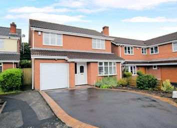 Thumbnail 4 bed detached house for sale in Elbury Croft, Knowle, Solihull