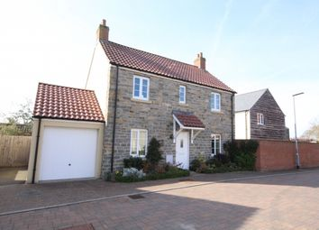 Thumbnail 3 bed detached house for sale in Trivetts Way, Cossington, Bridgwater