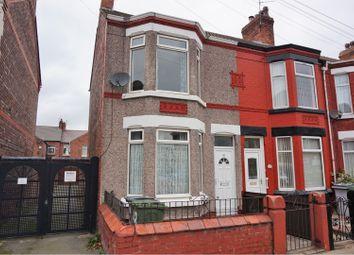 Thumbnail 3 bed end terrace house for sale in Aberdeen Street, Birkenhead