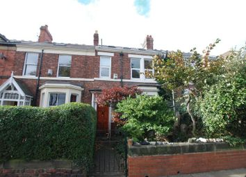 Thumbnail 5 bed terraced house for sale in Rothwell Road, Gosforth, Newcastle Upon Tyne