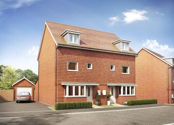 "Thumbnail 4 bed semi-detached house for sale in ""Woodvale"" at Park Prewett Road, Basingstoke"