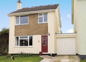 Thumbnail 4 bed link-detached house for sale in Treryn Close, St. Blazey, Par