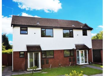 Thumbnail 2 bed semi-detached house for sale in Blossom Drive, Cardiff