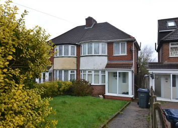 Thumbnail 3 bed semi-detached house to rent in Fowlmere Road, Great Barr, Birmingham