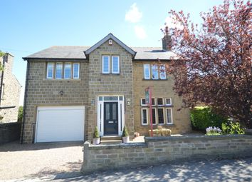 Thumbnail 5 bed detached house for sale in Station Road, Shepley, Huddersfield