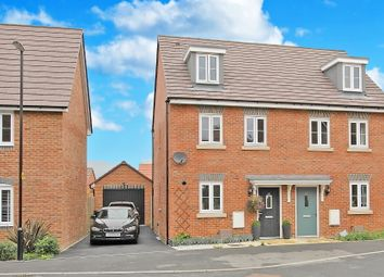 Thumbnail 3 bed semi-detached house for sale in Errington Road, Picket Piece, Andover