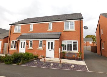 Thumbnail 3 bed semi-detached house for sale in Rosemary Drive, Shavington, Crewe