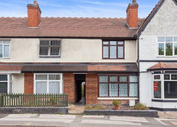 Thumbnail 3 bed terraced house for sale in Belvedere Road, Burton-On-Trent