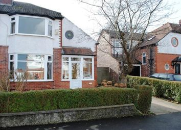 Thumbnail 3 bed semi-detached house for sale in Carlton Avenue, Cheadle Hulme, Cheadle, Greater Manchester