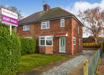 Thumbnail 3 bed semi-detached house for sale in East Lane, Edwinstowe, Mansfield