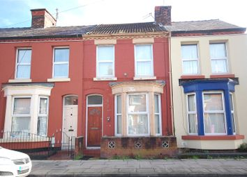 Thumbnail 3 bedroom terraced house for sale in Bagot Street, Wavertree, Liverpool