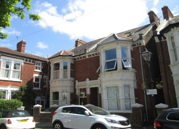 Thumbnail 4 bed flat to rent in Wilberforce Road, Southsea
