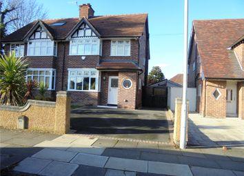 Thumbnail 3 bed semi-detached house for sale in Heath Road, Bebington
