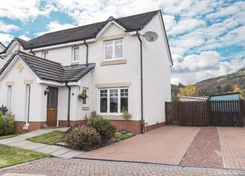 Thumbnail 3 bed semi-detached house for sale in Birch Grove, Menstrie, Stirling, Scotland