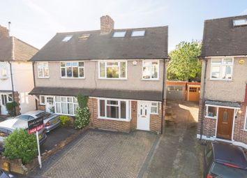 Thumbnail 4 bed semi-detached house for sale in Stuart Avenue, Walton-On-Thames