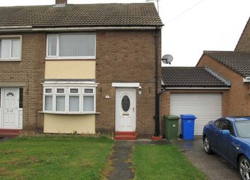 Thumbnail 2 bed semi-detached house to rent in Newsham Road, Blyth