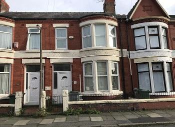 Thumbnail 3 bed terraced house to rent in 35 Walsingham Road, Wallasey, Wirral