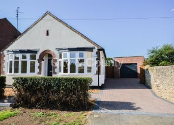 Thumbnail 3 bed detached bungalow for sale in Hall Lane, Werrington, Peterborough