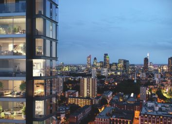 Thumbnail 2 bed flat for sale in 28.08, Carrara Tower, City Road, London