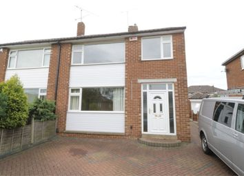 Thumbnail 3 bed semi-detached house to rent in Newman Road, Grange Estate, Rotherham, South Yorkshire