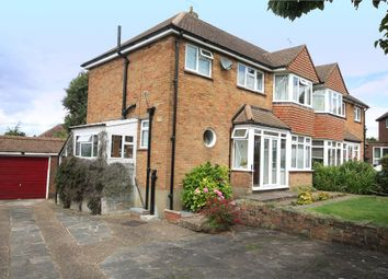 Thumbnail 3 bed semi-detached house for sale in Ferriers Way, Epsom