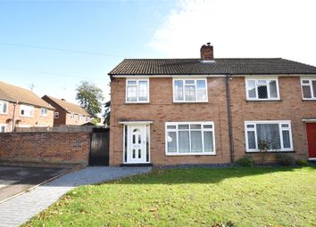 Thumbnail 3 bed semi-detached house for sale in Yorktown Road, Sandhurst, Berkshire