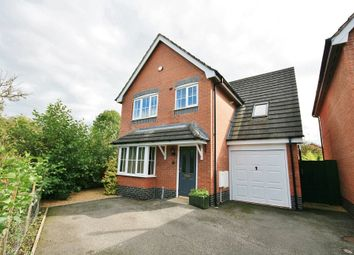 Thumbnail 4 bed detached house to rent in Garnett Close, Stapeley, Nantwich, Cheshire