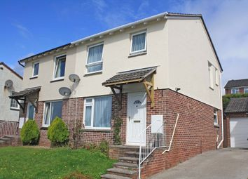 Thumbnail 3 bed semi-detached house for sale in Maddock Drive, Plympton, Plymouth, Devon