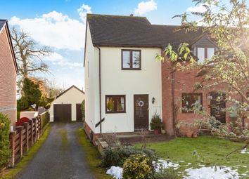 Thumbnail 2 bed end terrace house for sale in Shobdon, Herefordshire