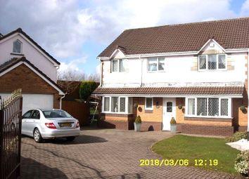 Thumbnail 4 bedroom detached house for sale in 55 Cwrt Coed Parc, Maesteg, Bridgend.
