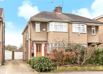 Thumbnail 3 bed semi-detached house for sale in Glebe Avenue, Ickenham, Uxbridge, Middlesex
