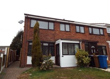 Thumbnail 3 bed property to rent in Grange Road, Burntwood