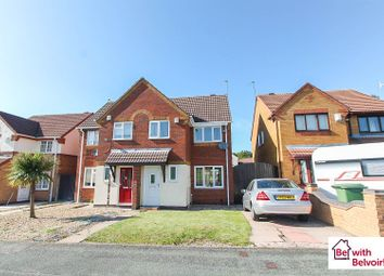 Thumbnail 3 bed semi-detached house for sale in Hallam Crescent, Wolverhampton