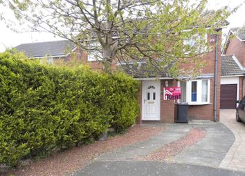 Thumbnail 2 bedroom property to rent in Callaly Close, Pegswood, Morpeth