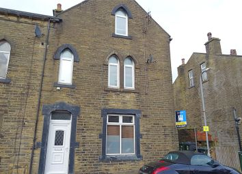 Thumbnail 2 bed end terrace house for sale in Knowles Street, Denholme, Bradford, West Yorkshire