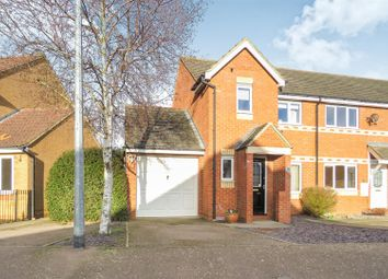 Thumbnail 3 bed end terrace house for sale in Sorrell Way, Biggleswade