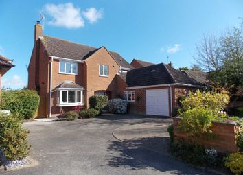 Thumbnail 4 bed detached house for sale in Ware Leys Close, Marsh Gibbon, Bicester