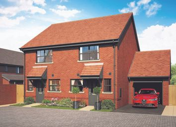 Thumbnail 2 bedroom semi-detached house for sale in The Cowslip, Popeswood Grange, London, Binfield, Berkshire