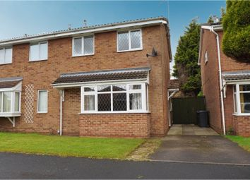 Thumbnail 3 bedroom semi-detached house for sale in Dallow Crescent, Burton-On-Trent