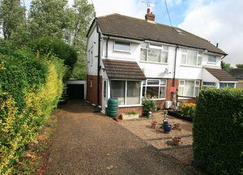 Thumbnail 3 bed semi-detached house to rent in The Ridgeway, Smeeth, Ashford, Kent