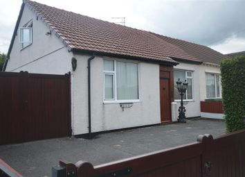 Thumbnail 4 bed semi-detached bungalow to rent in Burden Road, Moreton, Wirral