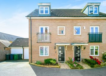 Thumbnail 3 bed semi-detached house for sale in Anson Road, Upper Cambourne, Cambridge
