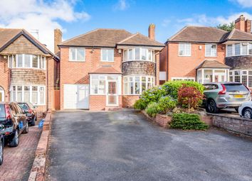 Thumbnail 4 bed detached house for sale in Greenridge Road, Handsworth Wood, Birmingham