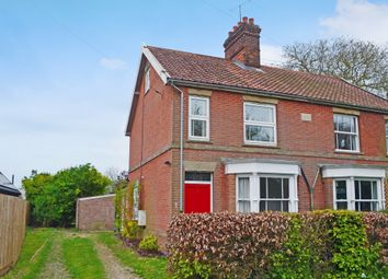 Thumbnail 2 bed semi-detached house to rent in Burston Road, Dickleburgh, Diss