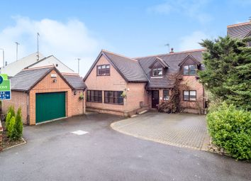 Thumbnail 4 bed detached house for sale in Station Hill, Swannington, Coalville