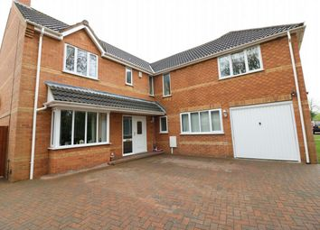 Thumbnail 5 bed detached house for sale in Spalding Road, Deeping St James, Market Deeping, Lincolnshire